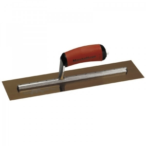 Stainless steel finishing trowels MXS series